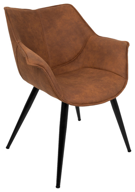 Wrangler Chair, Rust by LumiSource