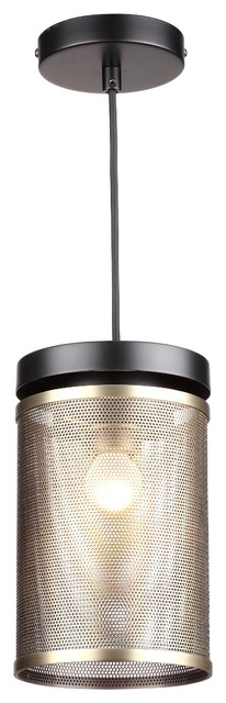 Casper Lantern Metal Mesh Pendant Light.