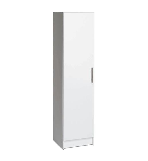"""Elite 16"""" Narrow Cabinet, White."""