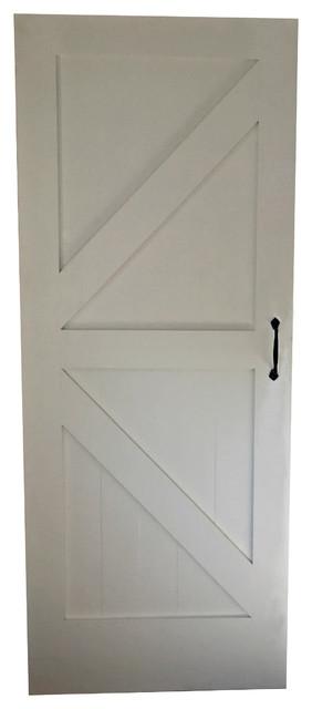 "Arrow Barn Door, 38""x96"", Weathered Gray."