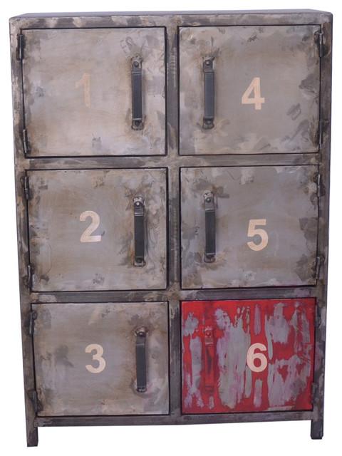 Verrell Six Door Cabinet.