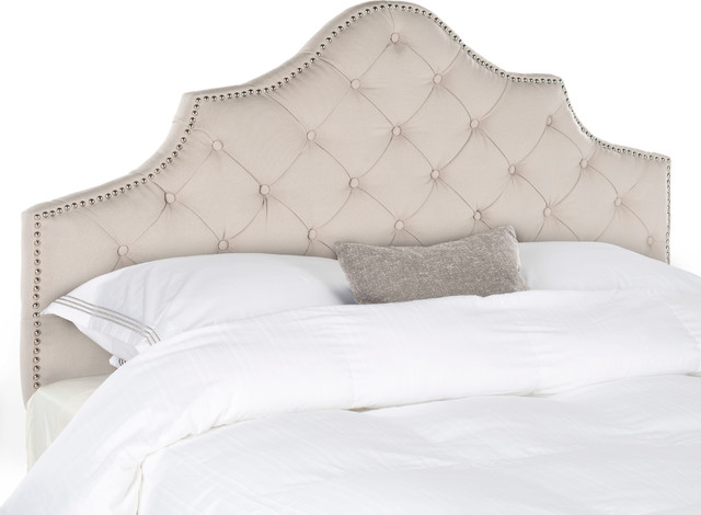 Safavieh Gianni Queen Headboard, Taupe.