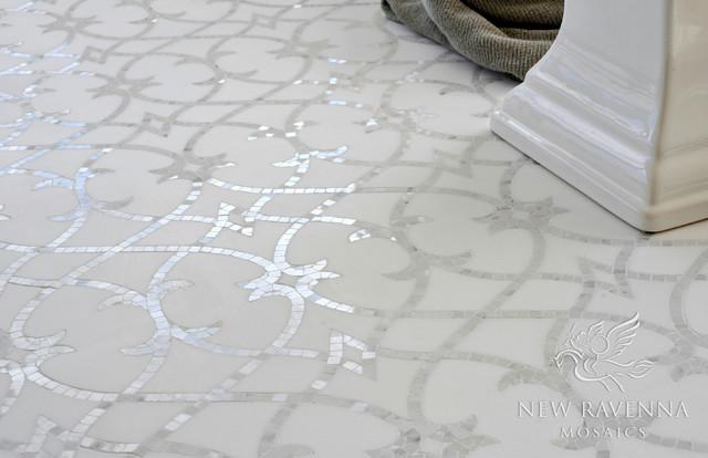 New Ravenna Tile Stone Countertops Miraflores Collection Avila Traditional