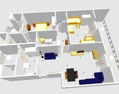 Help arredo moderno per casa a mare for Home node b architecture