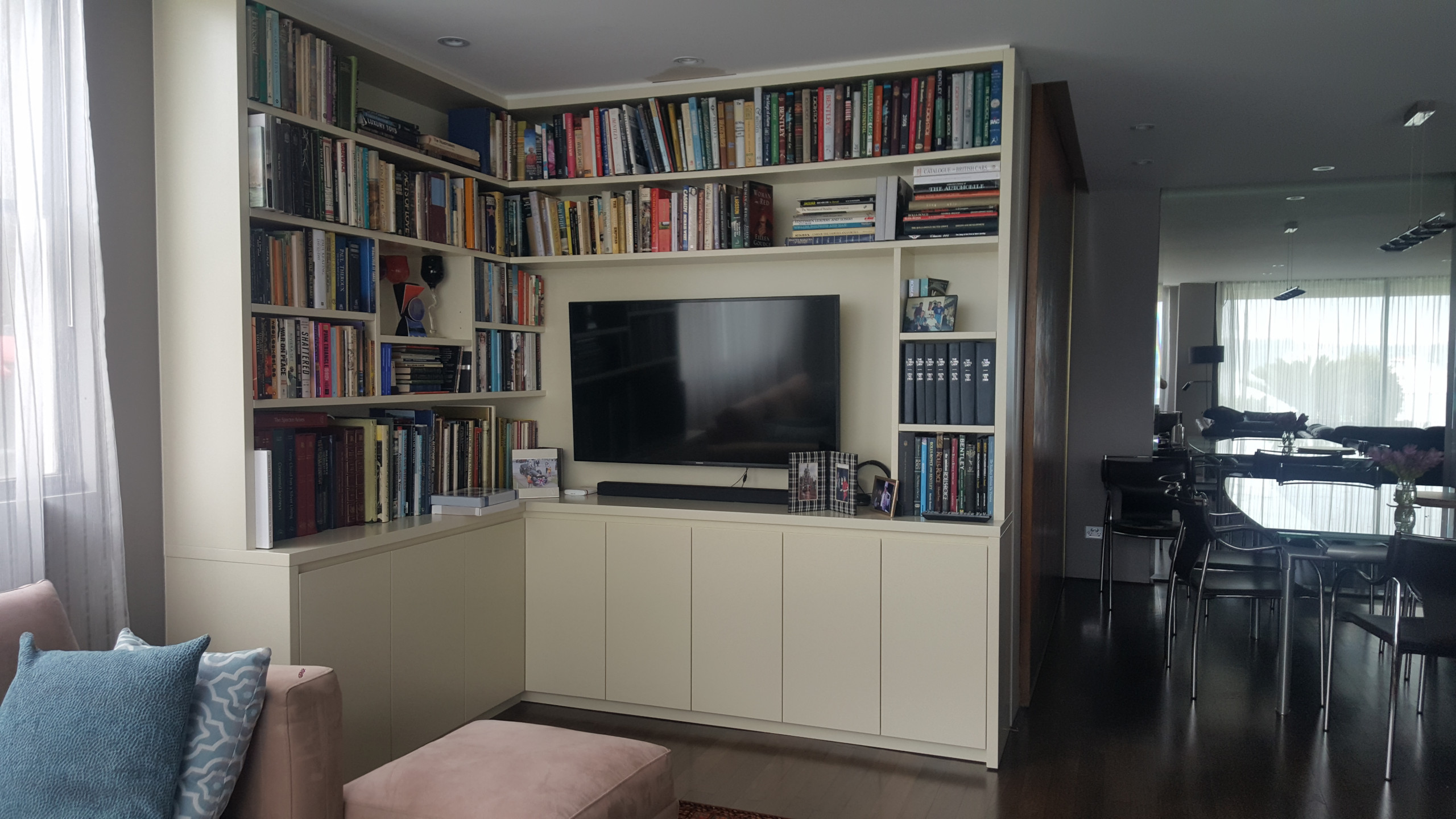 Custom Cabinetry and wall units
