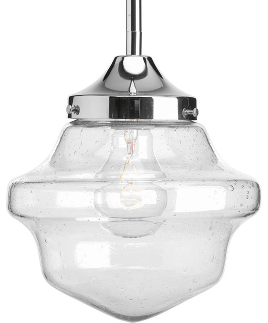Progress Lighting P5137 15 1 Light Globe Pendant Clear Light Seeded