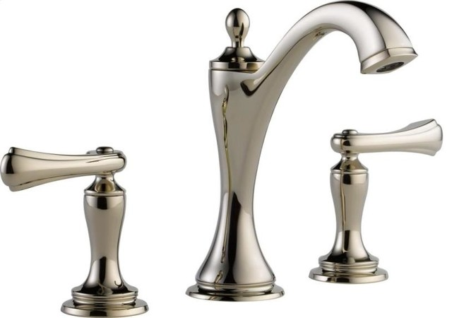 BRIZO CHARLOTTE TWO HANDLE WIDESPREAD LAVATORY FAUCET - LEVER HANDLES