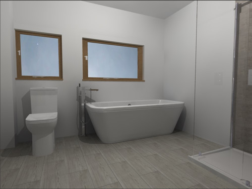 New bathroom design for Bathroom designs 3m x 2m