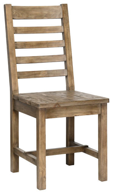"Griffin Pine Dining Chair, 18""."