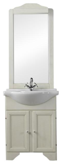 Decap�� White Bathroom Vanity Unit, 65 cm