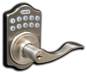 Digital Door Lock Lever Lock - Contemporary - Door Locks ...