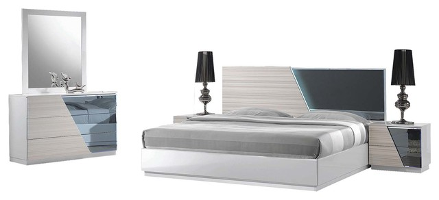 Manchester 5-Piece Bedroom Set Collection - Contemporary - Bedroom ...