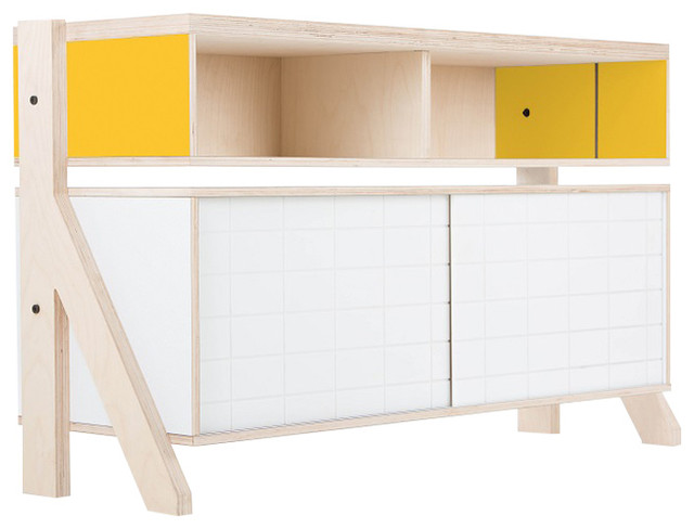 Small Frame Sideboard Contemporary Sideboards By Randy