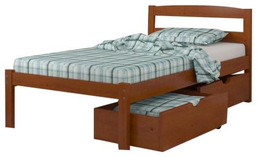 kids beds with underbed storage contemporary kids beds by custom kids furniture. Black Bedroom Furniture Sets. Home Design Ideas