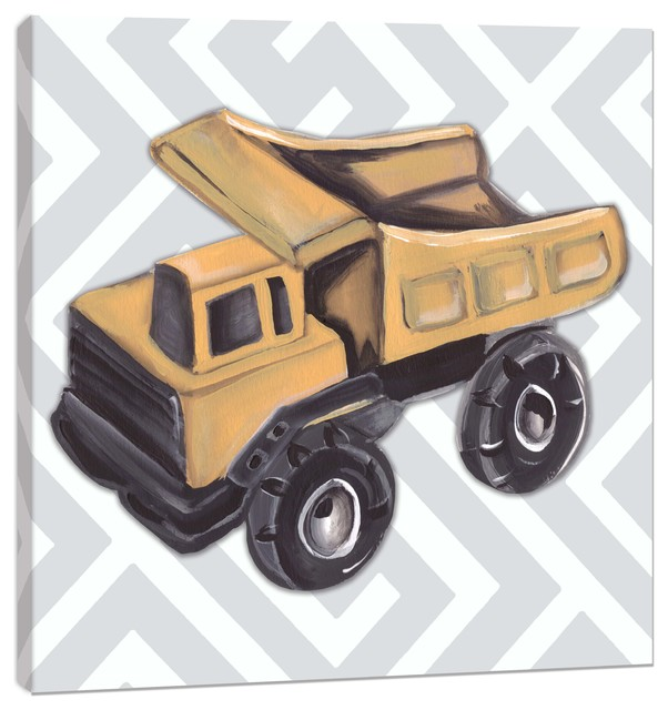 Vintage Dump Truck Wall Decor - Traditional - Kids Wall Decor - by ...