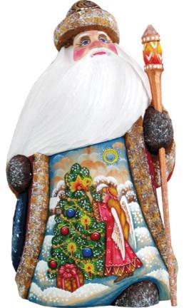Trim A Tree Angel, Woodcarved Figurine.