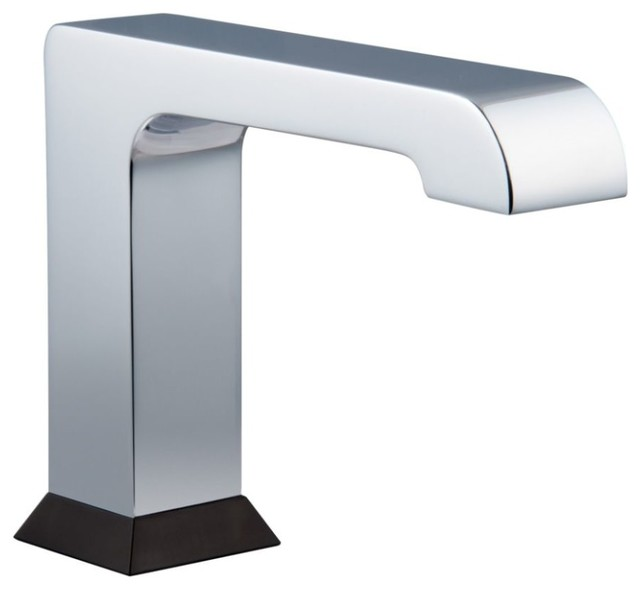 Delta 630tp350 0 5 gpm single hole hardwire operated - Delta contemporary bathroom faucets ...
