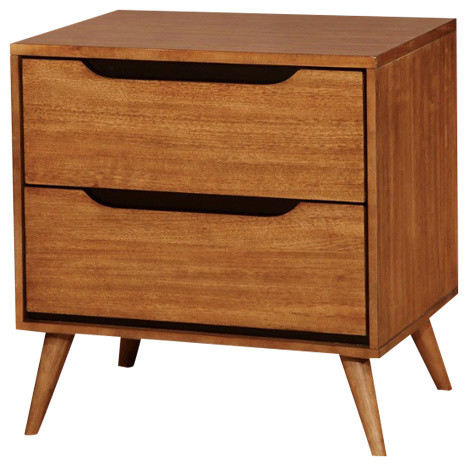b197fedfbf368 Lennart Mid Century Modern Nightstand - Midcentury - Nightstands And Bedside  Tables - by 1PerfectChoice