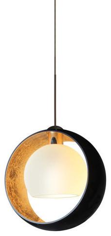 Besa Lighting 1xt-4293gf Pogo 1 Light Mini Pendant.
