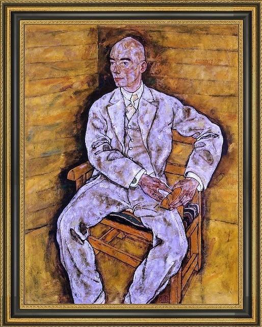 essay on egon schiele portrait of paris von gutersloh From the national gallery, london, egon schiele, portrait of albert paris von gütersloh (1918), oil on canvas, 140 × 1103 cm.