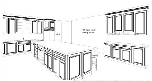 Design Critique for large kitchen/island plan