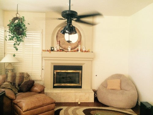 help decorating family room walls