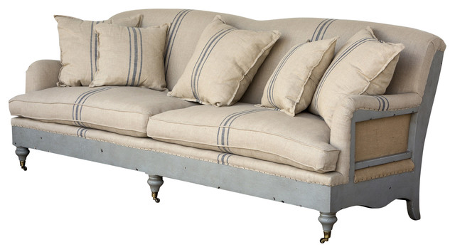 Attrayant Deconstructed Farmhouse Sofa