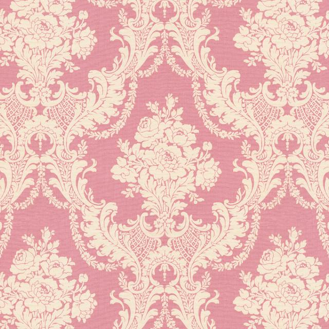 Rose Pink Damask
