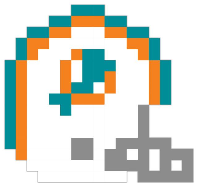 Miami dolphins football helmet pixel art vinyl 12x12 miami dolphins football helmet pixel art vinyl voltagebd Choice Image