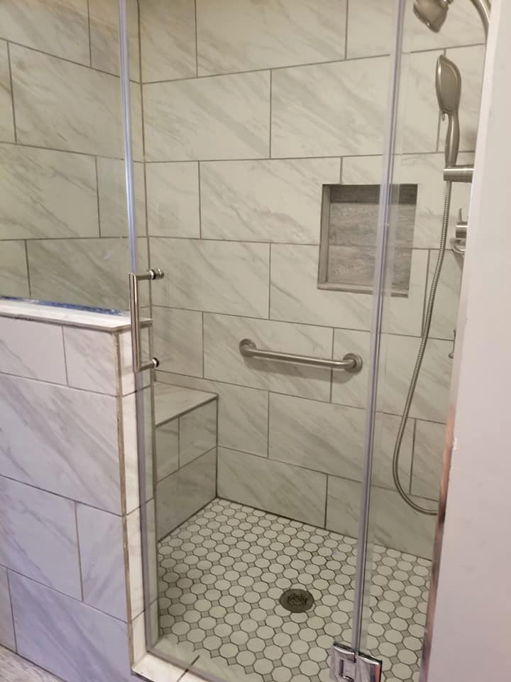Modern Collierville Bathroom Remodel