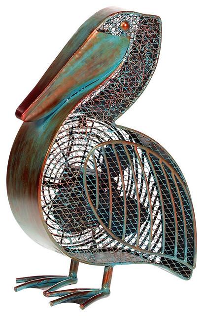 Figurine Fan, Pelican.