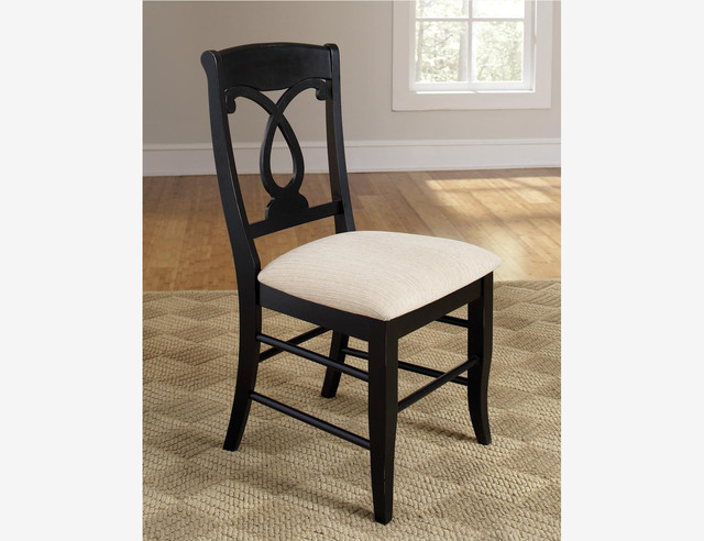 Black Wood Dining Chair