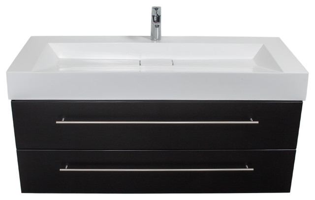 Modern Bathroom Vanity Units emotion design 1200 bathroom furniture, 119 cm - contemporary