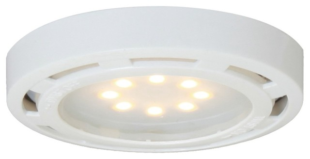 White Interior Puck Light - Contemporary - Undercabinet ...