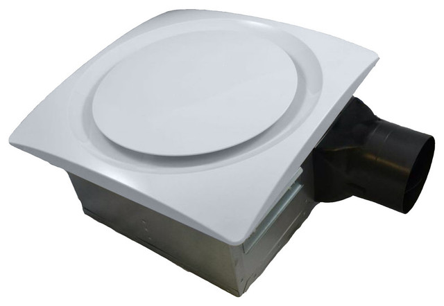 Aero Pure Slim-Fit Bathroom Ventilation Fan Ap90-S G6, White.