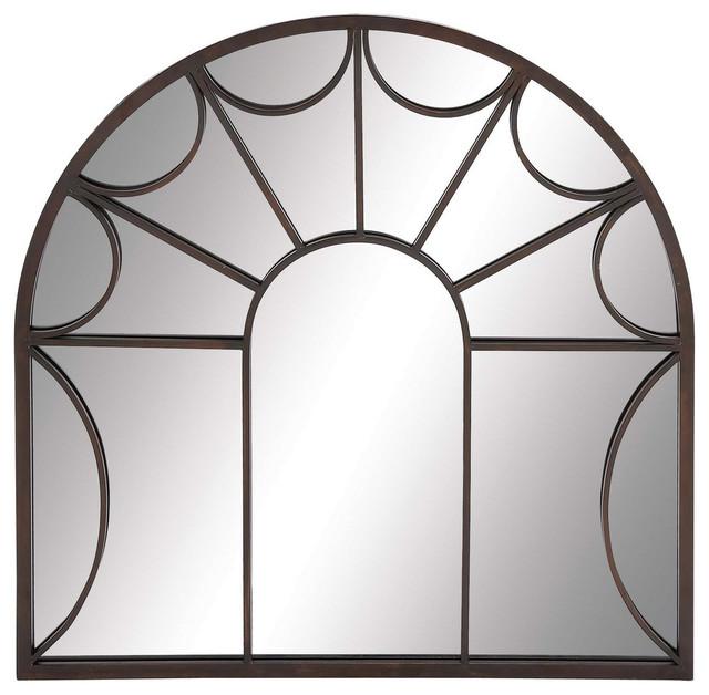 Metal Wall Mirror, 35x35.