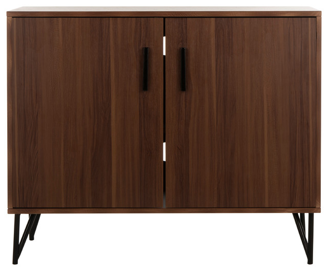 Safavieh Pine 2 Door Modular Tv Unit Contemporary Entertainment Centers And Stands By