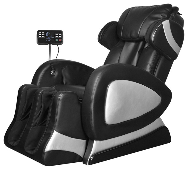 Bon Black Electric Artificial Leather Massage Chair With Super Screen