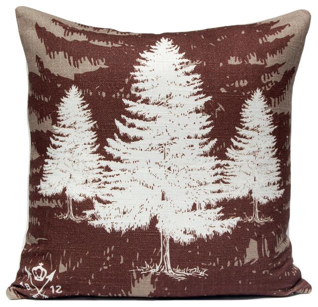 Company 415 - Pine Tree Pillow & Reviews Houzz