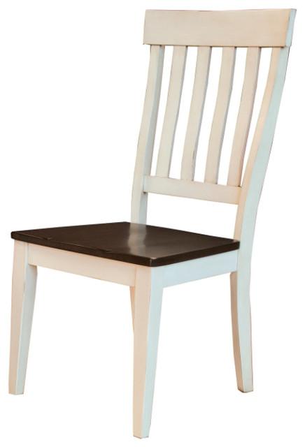 Toluca Slatback Side Chair, Set Of 2.