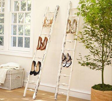 Wooden Shoe Ladder