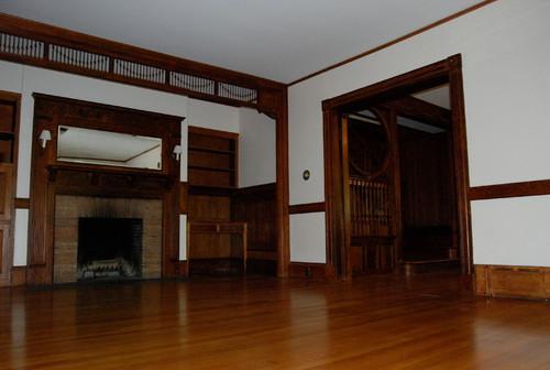 should we paint original woodwork in victorian home