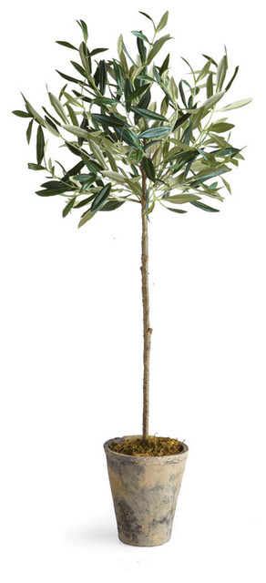"""Artificial Olive Tree in Pot, 30"""""""