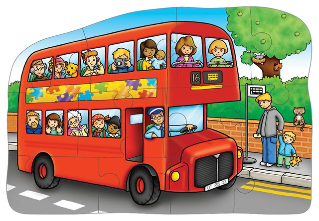 The Original Toy Company Kids Children Play Little Bus