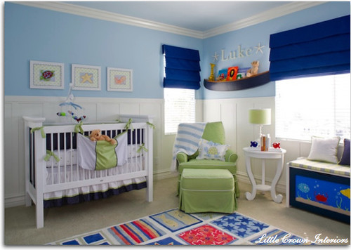 Classic Nautical Nursery traditional kids