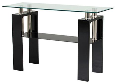 Gl Calico Console Table Black