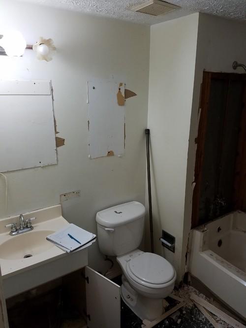 Bathroom Reno I Did For A Flip Property
