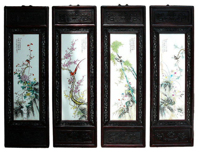 Folding screen asian