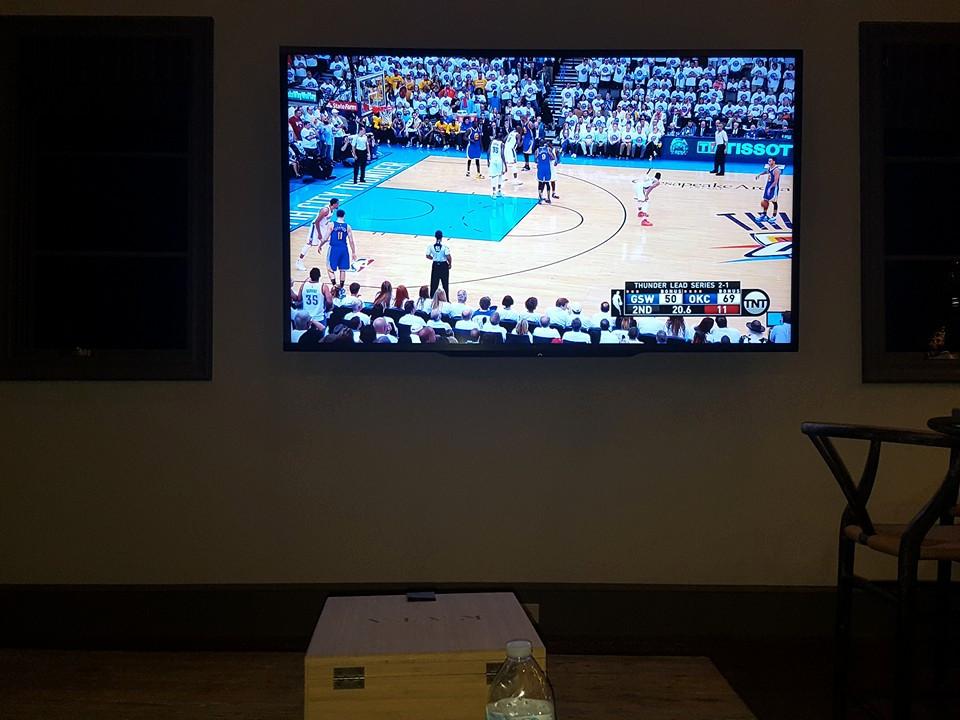 Custom game & Media Room
