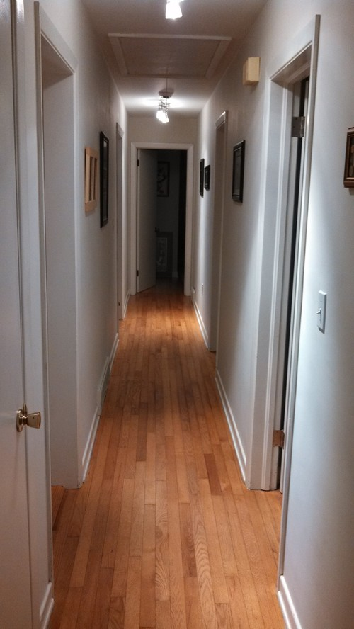 Need help with long narrow white hallway for Long narrow mirrors for sale